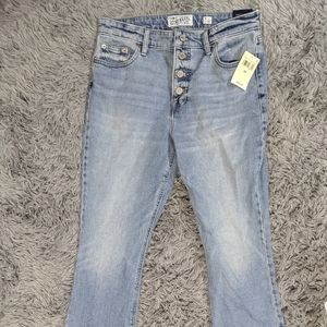 Lucky 🍀 Brand Bridgette Cropped Flair Jeans NWT